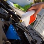 car maintenance motor oil