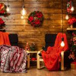 cozy home design holidays