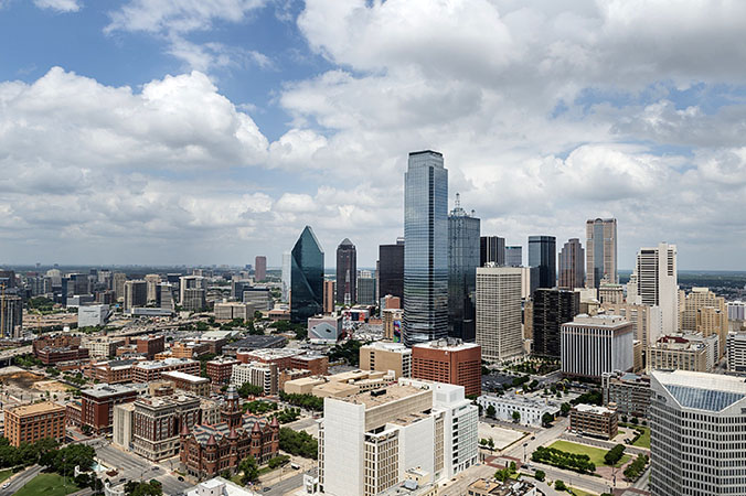 dallas city view