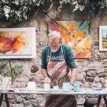 painter working