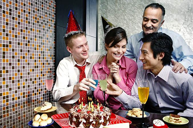 small birthday celebration